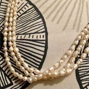 Genuine Seed Pearl Necklace VTG